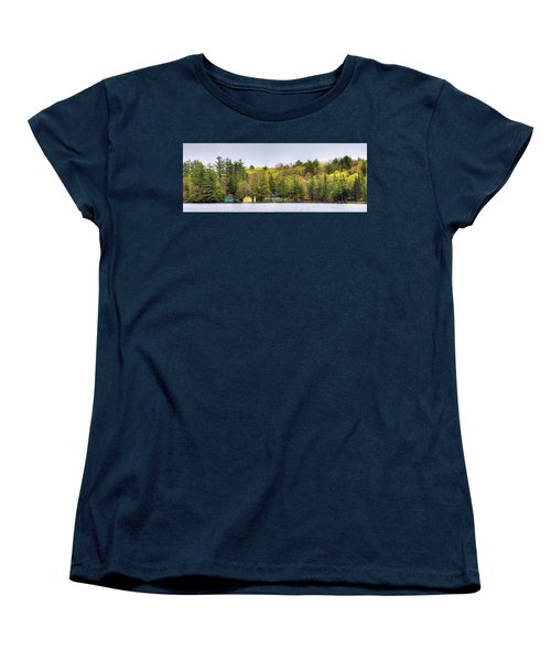 The Early Greens Of Spring Women's T-Shirt (Standard Cut) by David Patterson
