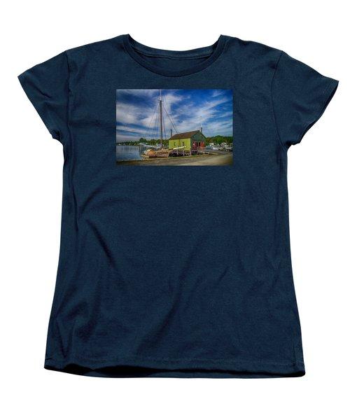 The Emma C. Berry, Mystic Seaport Museum Women's T-Shirt (Standard Cut)