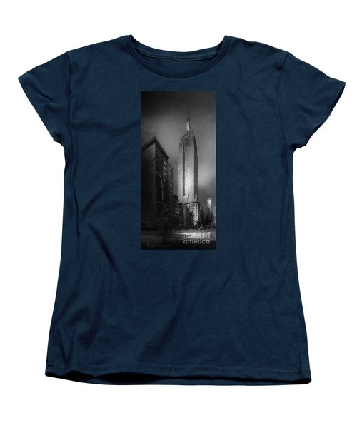 Women's T-Shirt (Standard Cut) featuring the photograph The Empire State Ch by Marvin Spates