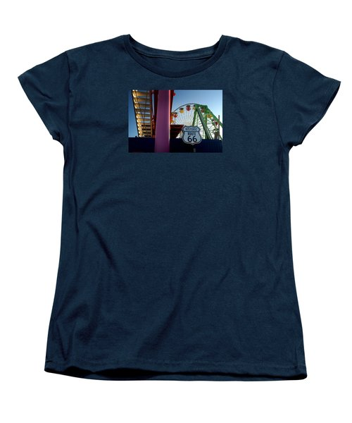 The End Of Route 66 1 Women's T-Shirt (Standard Cut)