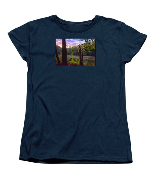 The End Of The Day Women's T-Shirt (Standard Cut) by Tricia Marchlik