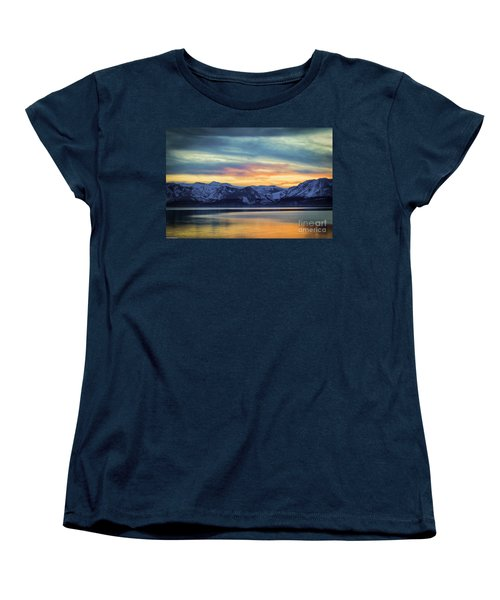 The Evening Colors Women's T-Shirt (Standard Cut) by Mitch Shindelbower
