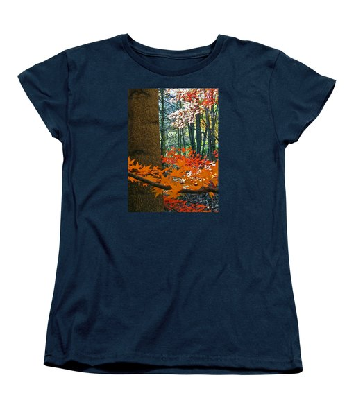 Women's T-Shirt (Standard Cut) featuring the photograph The Ever Elusive Power Lines  But I Got Them by Cliff Spohn