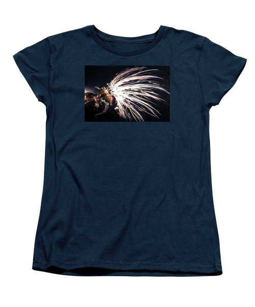 Women's T-Shirt (Standard Cut) featuring the photograph The Exploding Growler by David Sutton