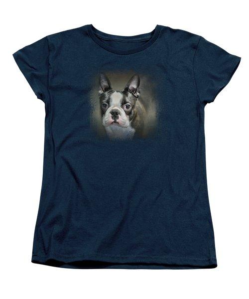 The Face Of The Boston Women's T-Shirt (Standard Cut) by Jai Johnson