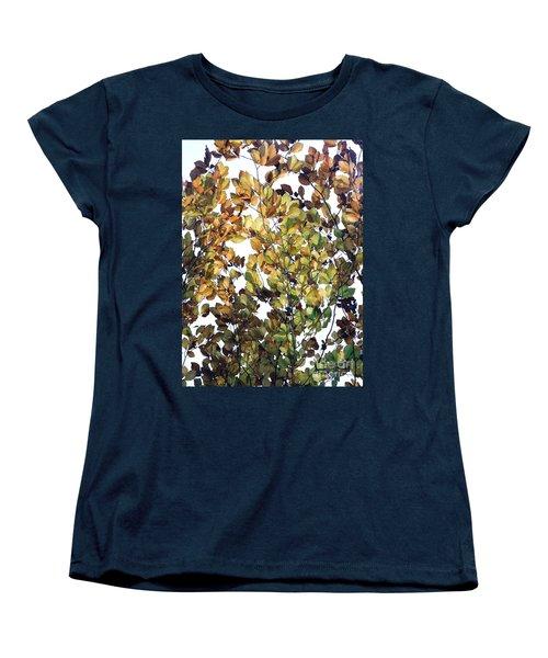 The Fall Women's T-Shirt (Standard Cut) by Rebecca Harman