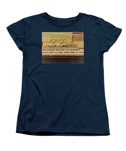 The Famous Le Colisee Cinema In Beirut Women's T-Shirt (Standard Cut) by Funkpix Photo Hunter