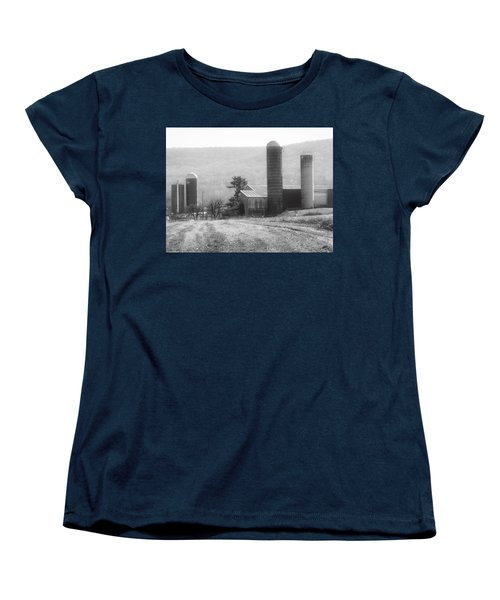 The Farm-after Harvest Women's T-Shirt (Standard Cut) by Robin Regan