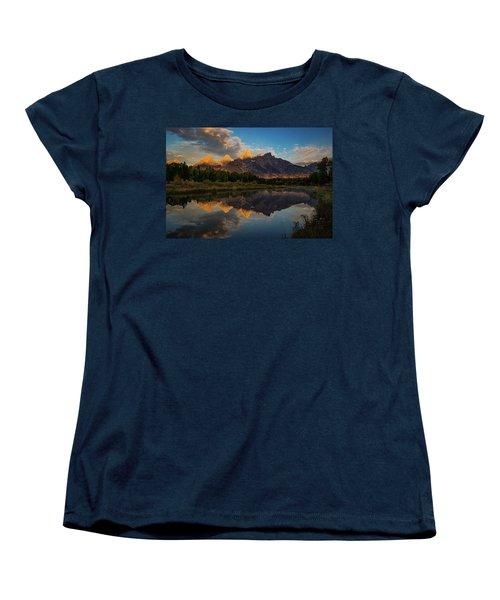The First Light Women's T-Shirt (Standard Cut) by Edgars Erglis