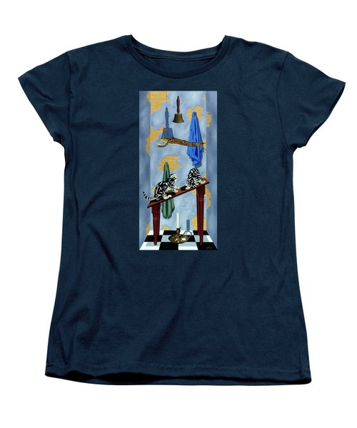 The Flying Frog Women's T-Shirt (Standard Cut)