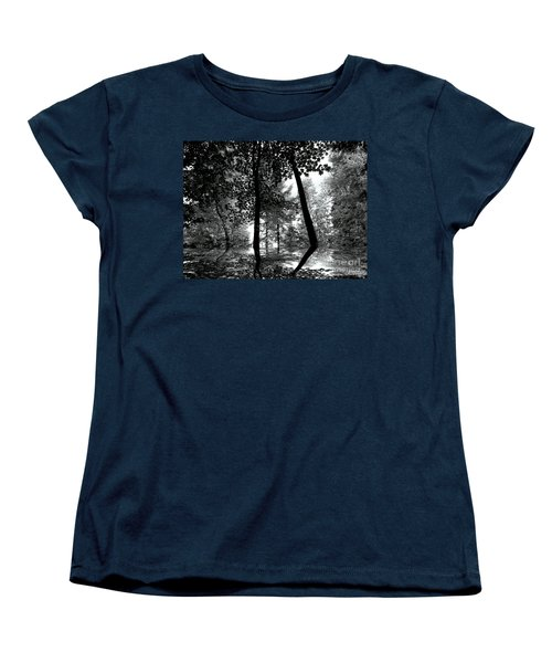 Women's T-Shirt (Standard Cut) featuring the photograph The Forest by Elfriede Fulda
