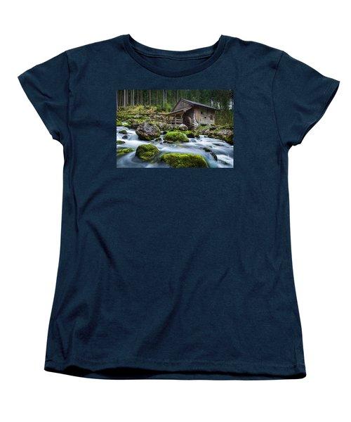 The Forgotten Mill Women's T-Shirt (Standard Cut) by JR Photography