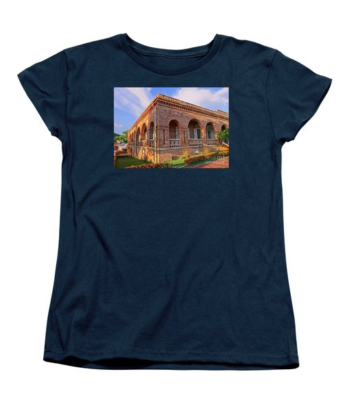 Women's T-Shirt (Standard Cut) featuring the photograph The Former British Consulate In Kaohsiung In Taiwan by Yali Shi