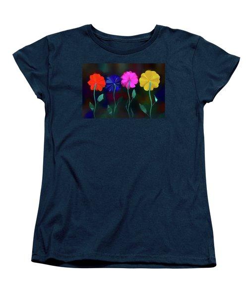 Women's T-Shirt (Standard Cut) featuring the photograph The Garden by Paul Wear