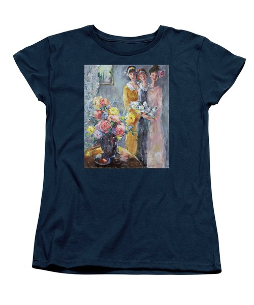 The Gathering Women's T-Shirt (Standard Cut) by Sharon Furner