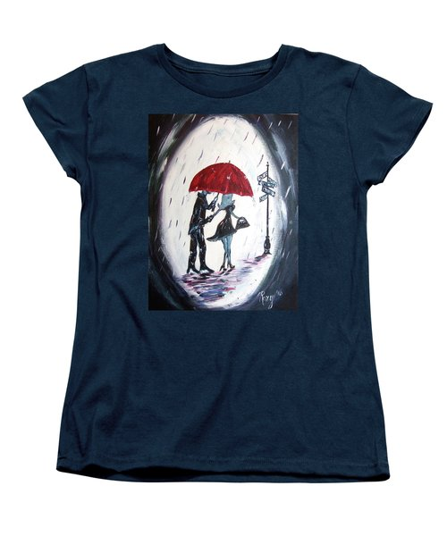 The Gentleman Women's T-Shirt (Standard Cut) by Roxy Rich