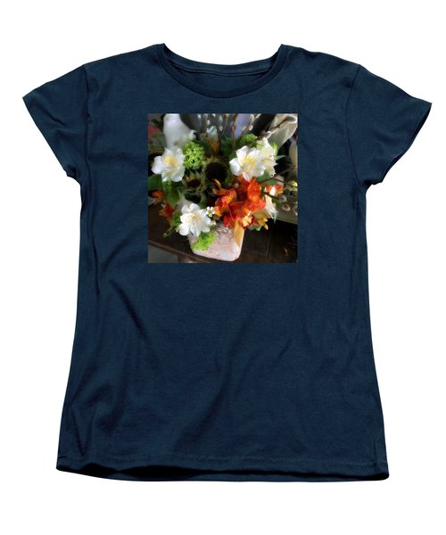The Gift Of Giving Women's T-Shirt (Standard Cut) by Peggy Stokes