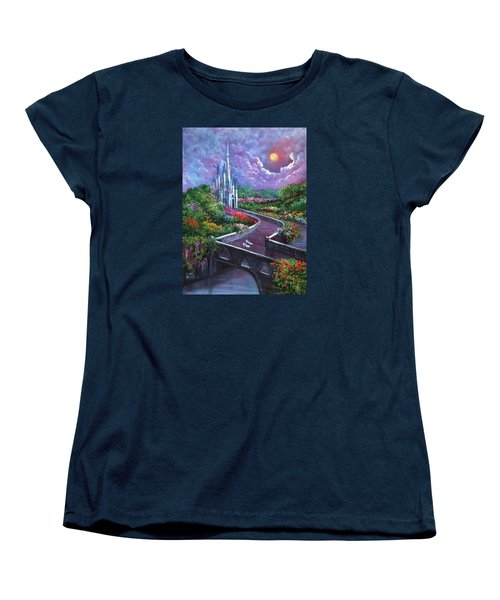 The Glass Slippers Women's T-Shirt (Standard Cut) by Randy Burns