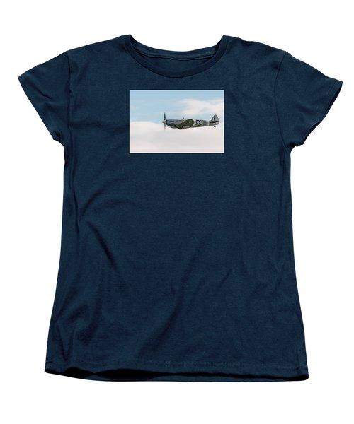 The Grace Spitfire Women's T-Shirt (Standard Cut) by Gary Eason