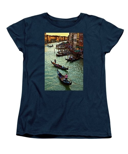 The Grand Canal Venice Women's T-Shirt (Standard Cut) by Harry Spitz