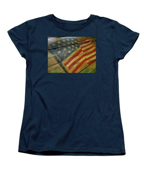 The Great American West Cafe  Women's T-Shirt (Standard Cut) by Sian Lindemann