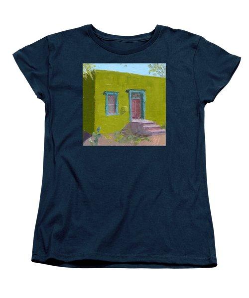 The Green House Women's T-Shirt (Standard Cut) by Susan Woodward