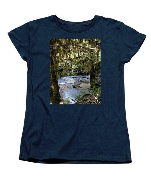 The Green Seen Women's T-Shirt (Standard Cut) by Marie Neder