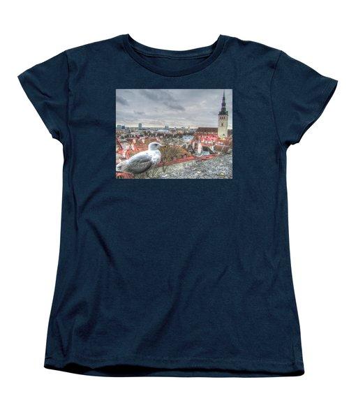 The Guard Of Tallinn Women's T-Shirt (Standard Cut) by Yury Bashkin