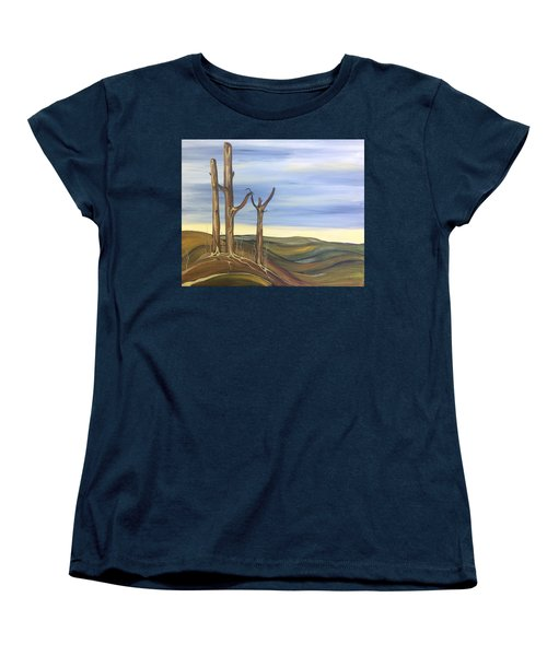 The Guardians Women's T-Shirt (Standard Cut) by Pat Purdy