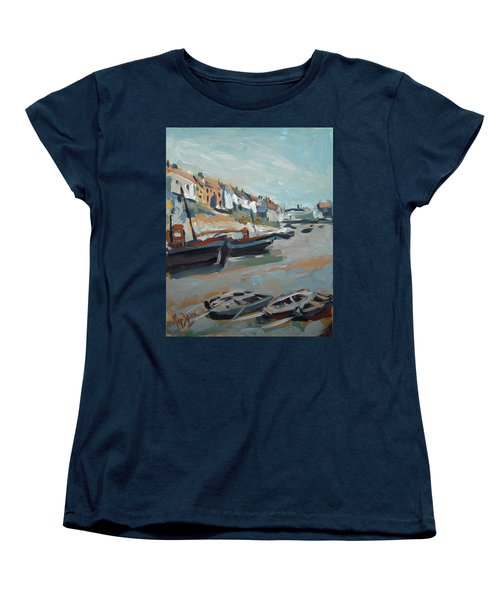 The Harbour Of Mevagissey Women's T-Shirt (Standard Fit)