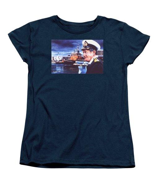 The Harbourmaster Women's T-Shirt (Standard Cut) by Tim Johnson