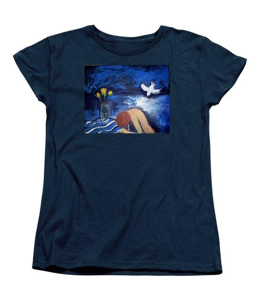 The Healing Women's T-Shirt (Standard Cut) by Winsome Gunning