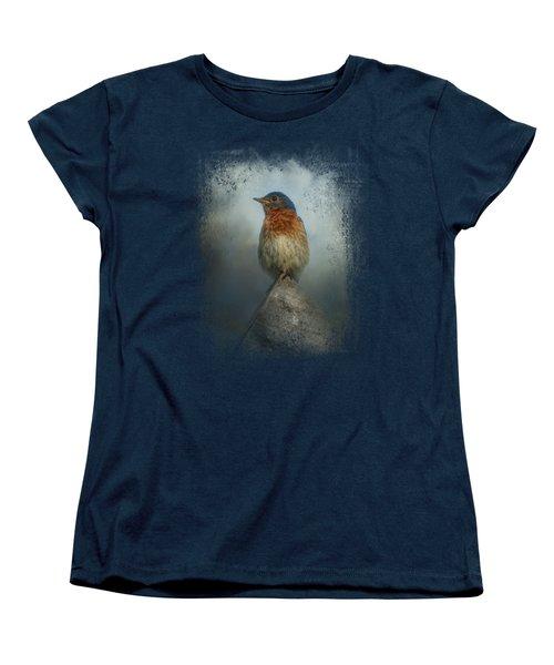 The Highest Point Women's T-Shirt (Standard Cut) by Jai Johnson