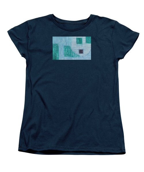 Women's T-Shirt (Standard Cut) featuring the painting The Highest Realm Is The Art by Min Zou