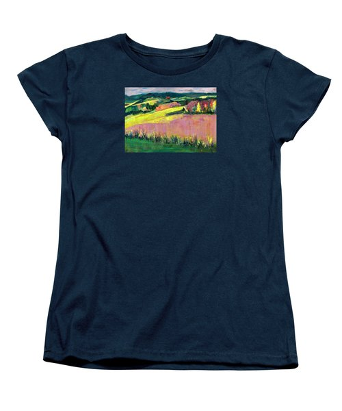 The Hills Are Alive Women's T-Shirt (Standard Cut) by Betty Pieper