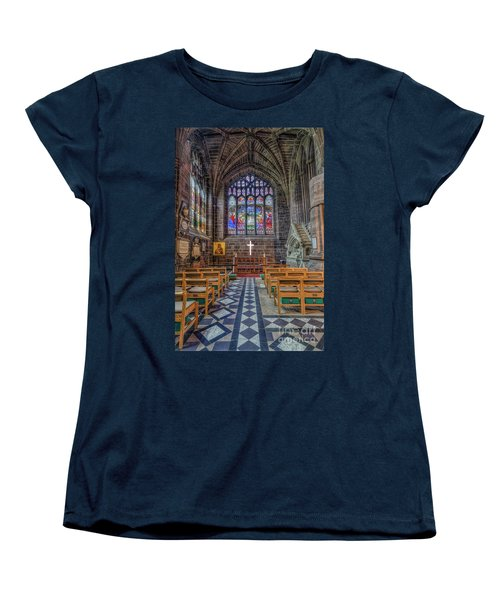 Women's T-Shirt (Standard Cut) featuring the photograph The Holy Cross by Ian Mitchell