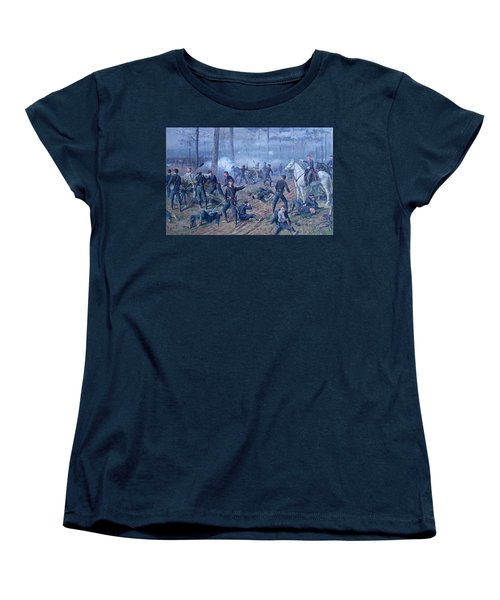 Women's T-Shirt (Standard Cut) featuring the painting The Hornets' Nest by Thomas Corwin Lindsay