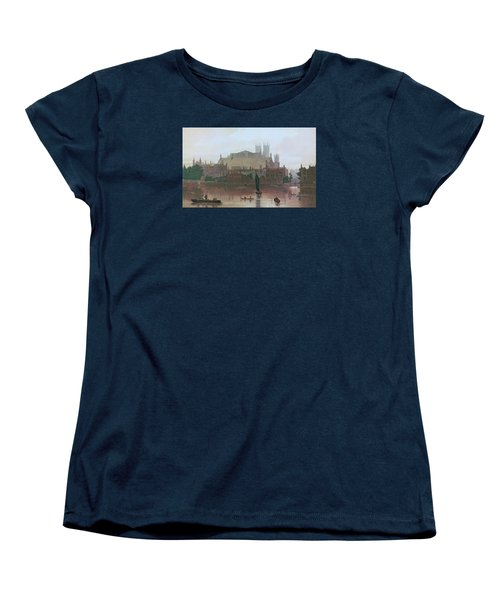 The Houses Of Parliament Women's T-Shirt (Standard Cut) by George Fennel Robson