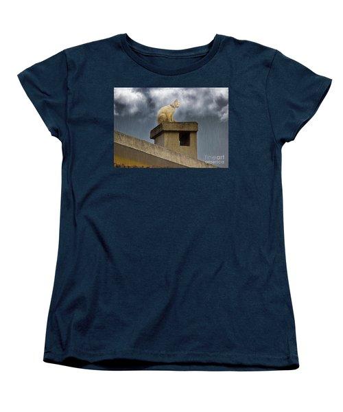 The Hunt Goes On Women's T-Shirt (Standard Cut) by Al Bourassa
