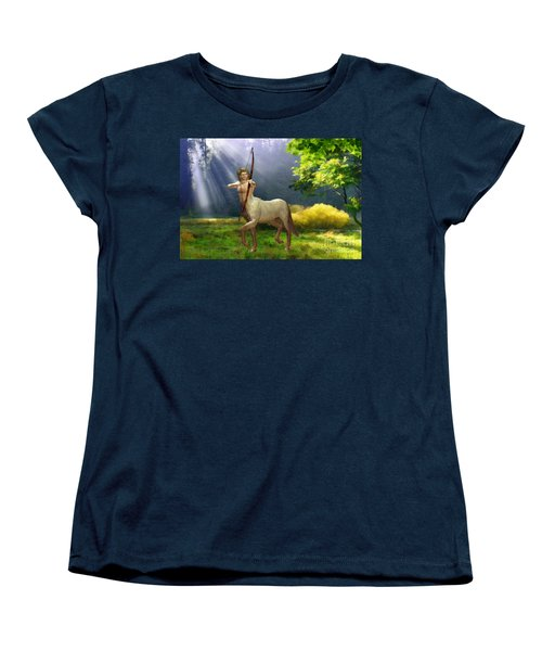 The Hunter Women's T-Shirt (Standard Cut) by John Edwards