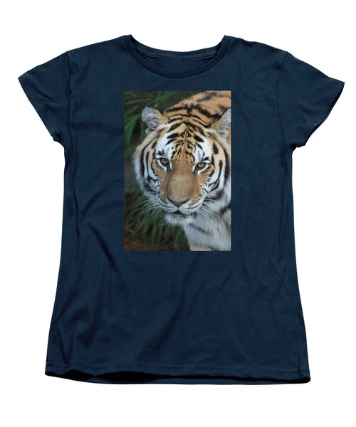 Women's T-Shirt (Standard Cut) featuring the photograph The Hunter by Laddie Halupa