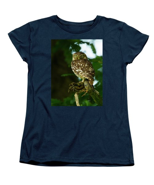 Women's T-Shirt (Standard Cut) featuring the photograph The Hunter by Paul Scoullar