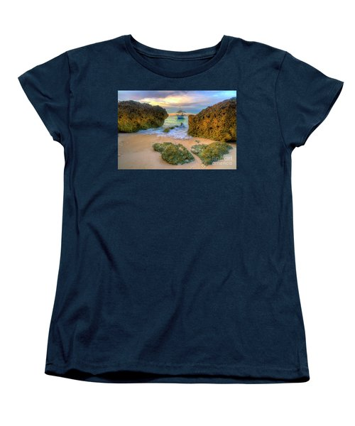 Women's T-Shirt (Standard Cut) featuring the photograph The Inbetweener by Yhun Suarez