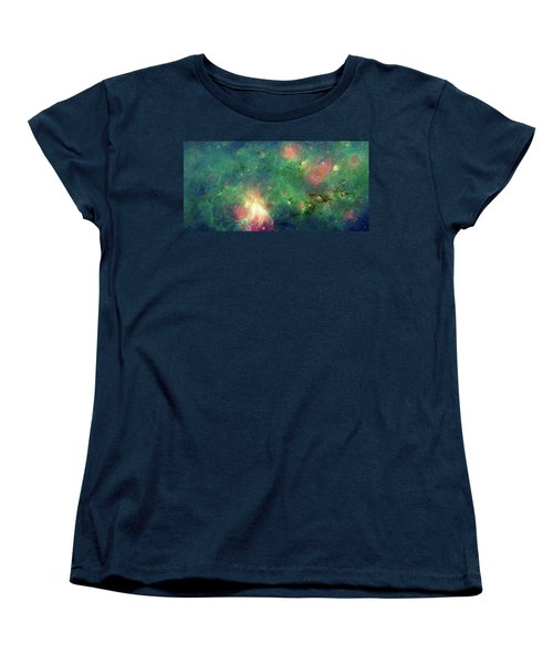 Women's T-Shirt (Standard Cut) featuring the photograph The Invisible Dragon by NASA JPL-Caltech