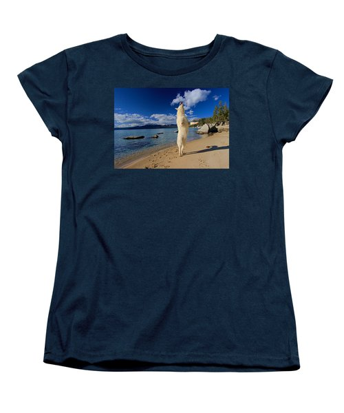 The Joy Of Being Well Loved Women's T-Shirt (Standard Cut) by Sean Sarsfield