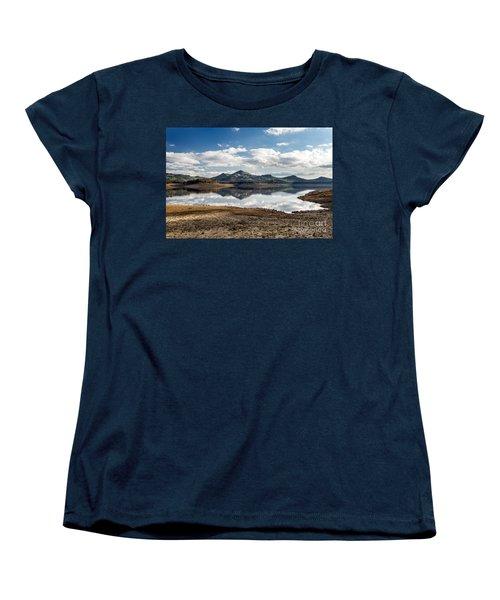 The Lake Women's T-Shirt (Standard Cut) by Giuseppe Torre