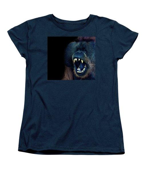 The Laughing Orangutan Women's T-Shirt (Standard Cut)