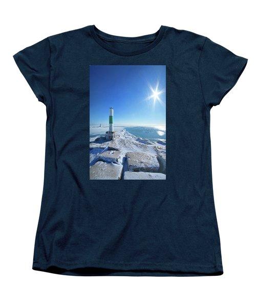 Women's T-Shirt (Standard Cut) featuring the photograph The Light Keepers by Phil Koch