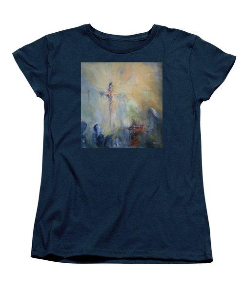 The Light Of Christ Women's T-Shirt (Standard Cut) by Roberta Rotunda
