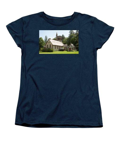 The Little Brown Church In The Vale Women's T-Shirt (Standard Cut)